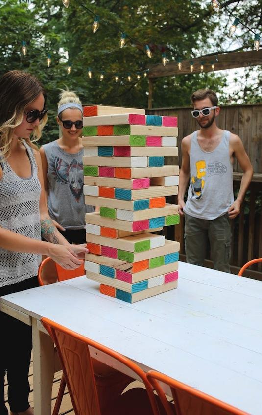 Giant Yard Games Diy