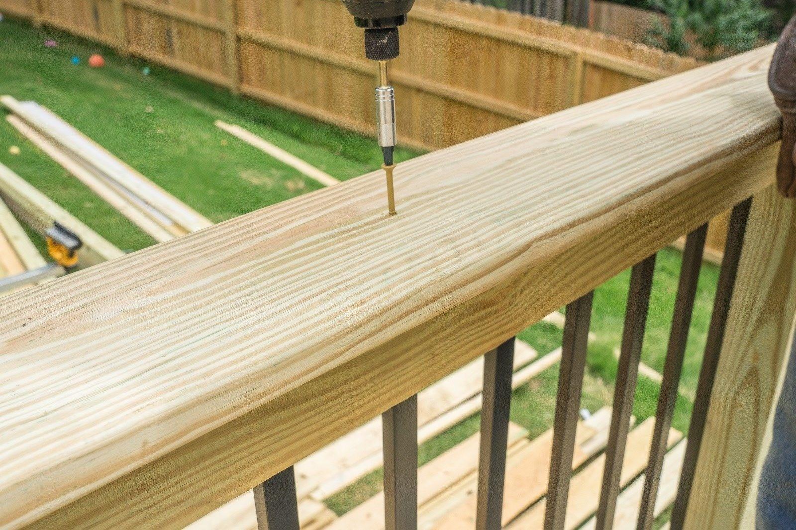 Railing Cap Decks Com | 2 Inch Round Wood Handrail | Stair Parts | Outside Diameter | Stair Treads | Handrail Brackets | Oak Wood