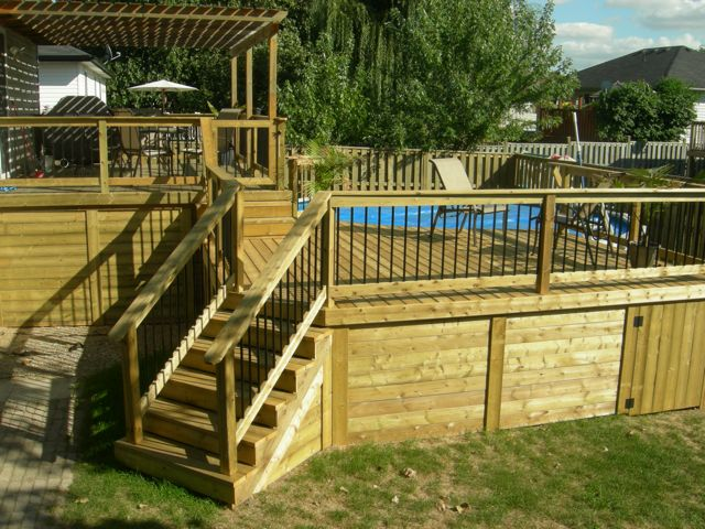 Deck Designs Ground Level
