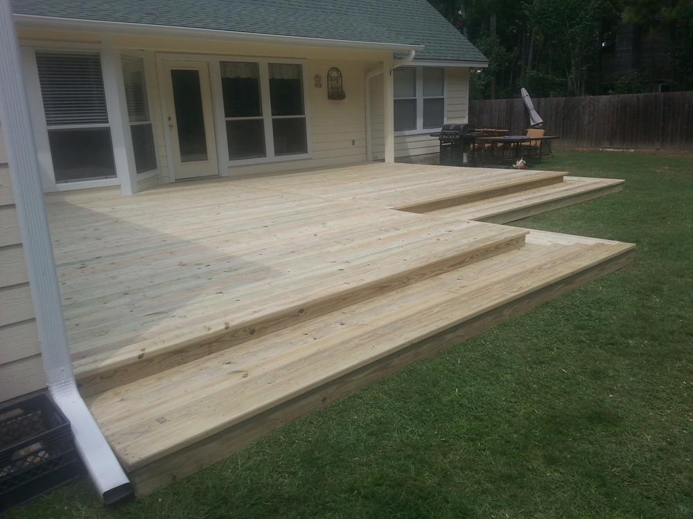 Life Time Treated Pine Decks Houston Custom Decks Amp Pergola