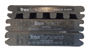Trex decking profiles