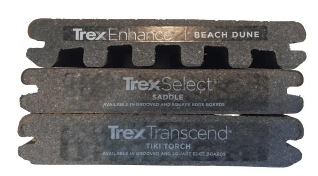 Trex end cuts