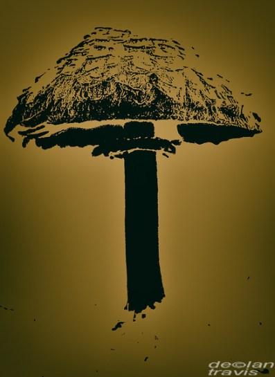 mushroom-graphic-outline