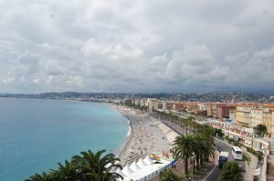 View of Nice from above.