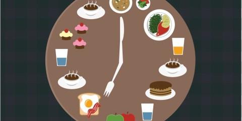 répartition des repas dans la journée