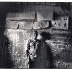 Ecole de Dama, Mali, noir et blanc argentique, Jean-Pierre Devals