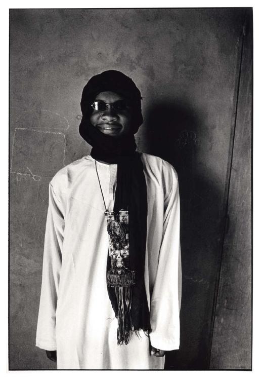 Ibrahim, instituteur à Tintchinomé, Mali, prise de vue argentique, JP Devals