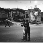 Les enfants de Rafidia, Naplouse, Palestine, clichés noir et blanc