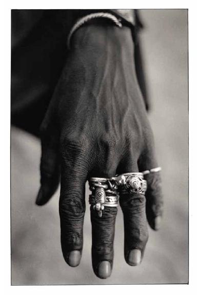 La main du chasseur, Mali, vues photographiques, photo argentique