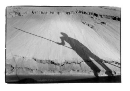 Ombre d'Ibrahim, Mali, prise de vue argentique, JP Devals