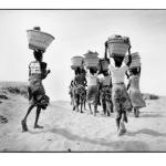 Retour du marché, Mali, prise de vue argentique, JP Devals