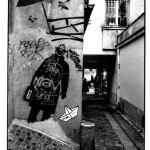 Vers la rue Mouffetard, Paris, photographies argentiques, Devals