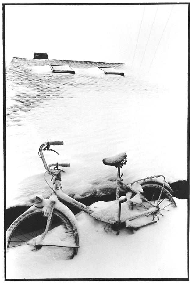 La bicyclette, Aveyron, prise de vue argentique, JP Devals