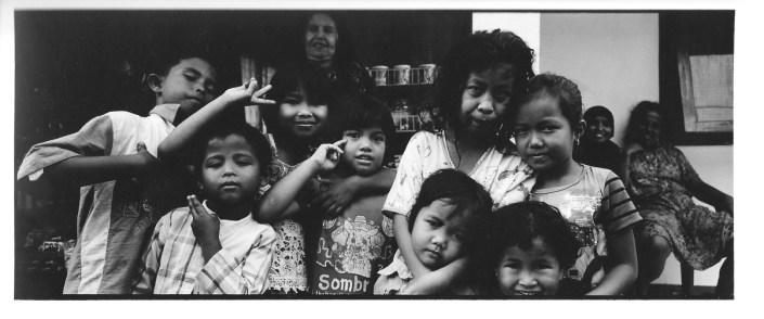 Les voisins de nenek, Indonésie, photographies argentiques, Devals