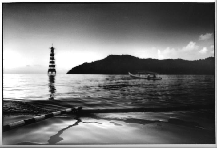 Phare de Bungus, Sumatra, Indonésie, voyage, photo
