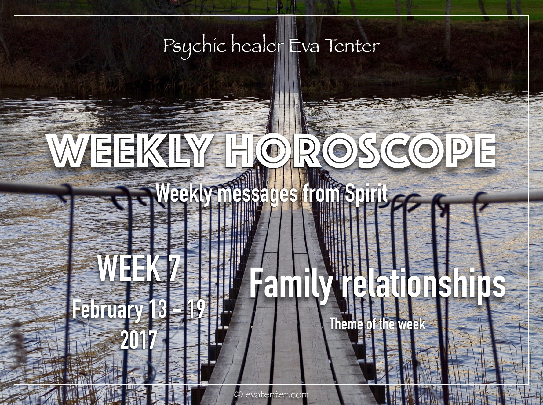 Weekly horoscope February 13-19, 2017 #horoscope #psychicreading