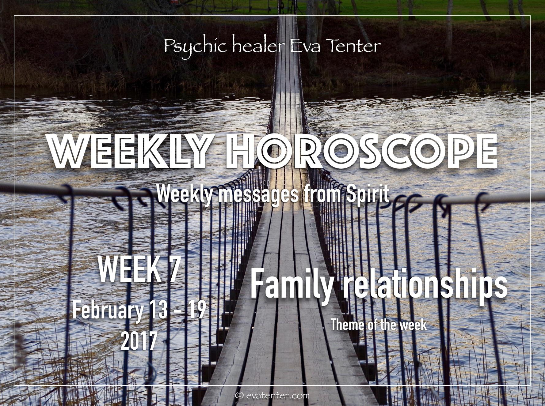 Weekly horoscope February 13-19, 2017 #horoscope #psychicreading