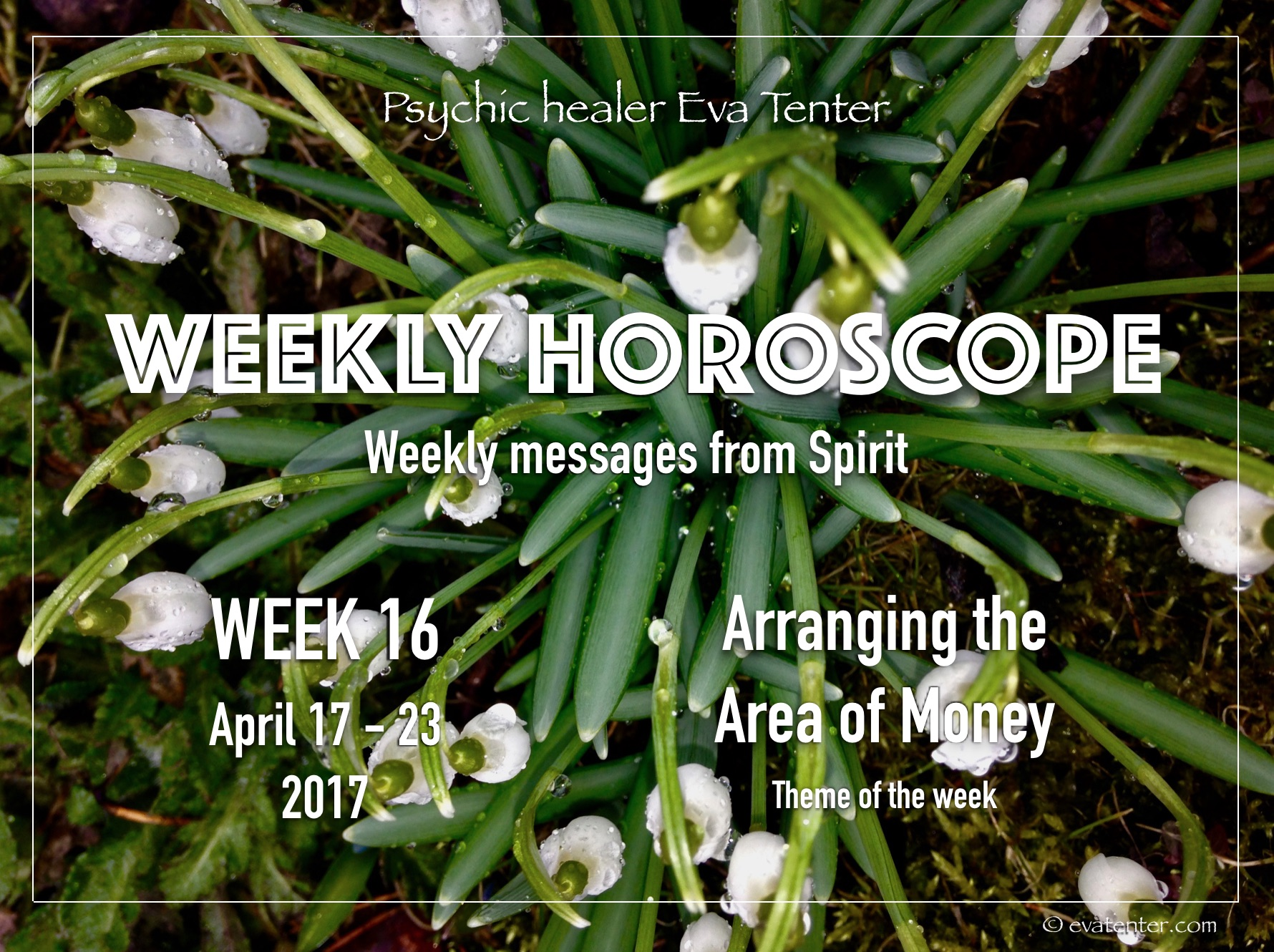 Weekly horoscope April 17-23, 2017 #horoscope