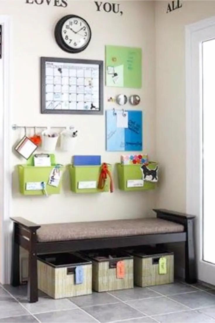 DIY family command center