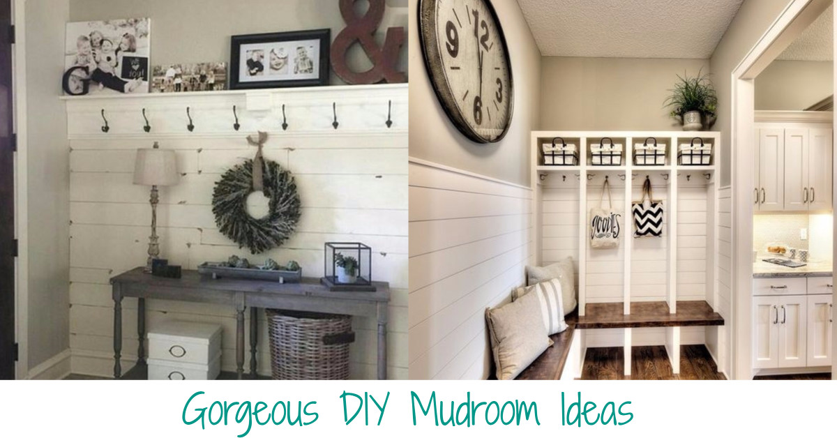 Decor That Keeps You Organized: Declutter All The STUFF With These Gorgeous  Mudroom Ideas Part 77