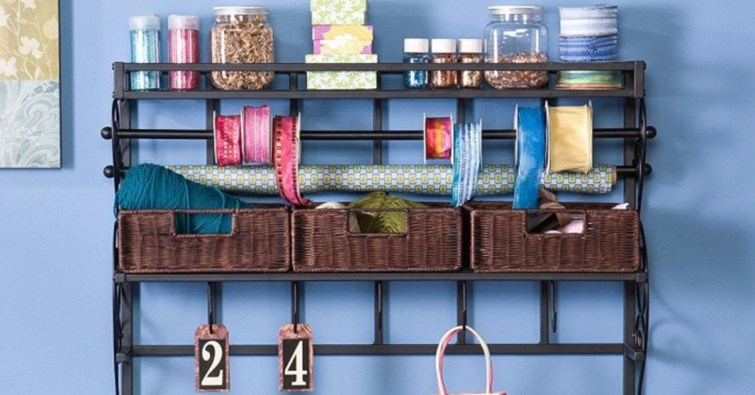 How to organize a craftroom - craft room organization ideas and tips