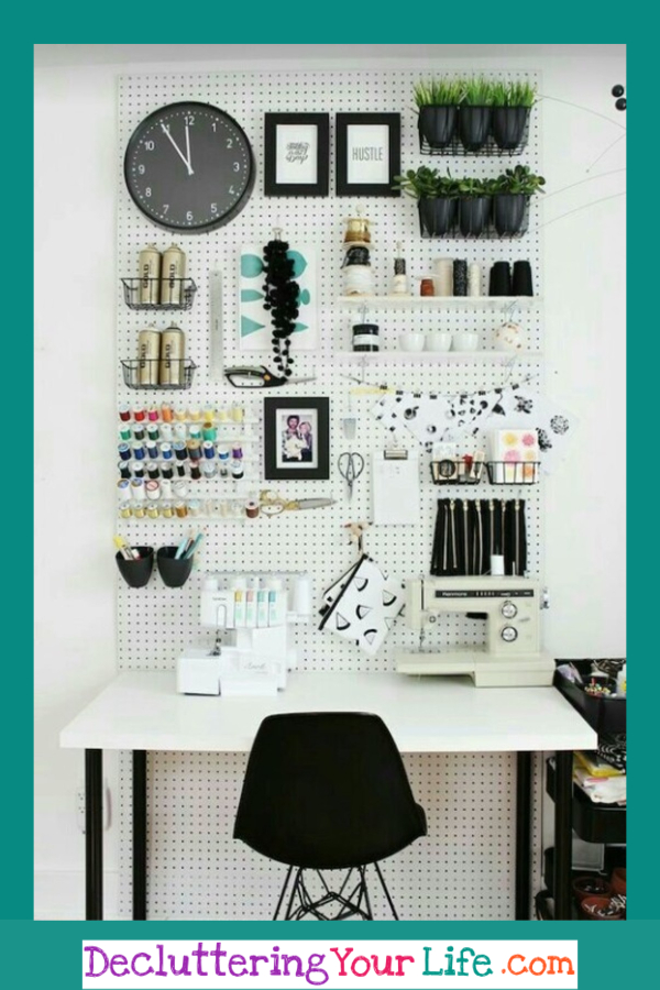 Organization ideas for craft room or sewing room #organizationideasforthehome #getorganized #ideasforthehome #gettingorganized #goals