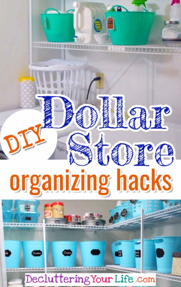 BRILLIANT Dollar Store Organization Hacks #getorganized #gettingorganized #organizationideasforthehome #diyhomedecor #organizingideas #cleaninghacks #lifehacks #diyideas