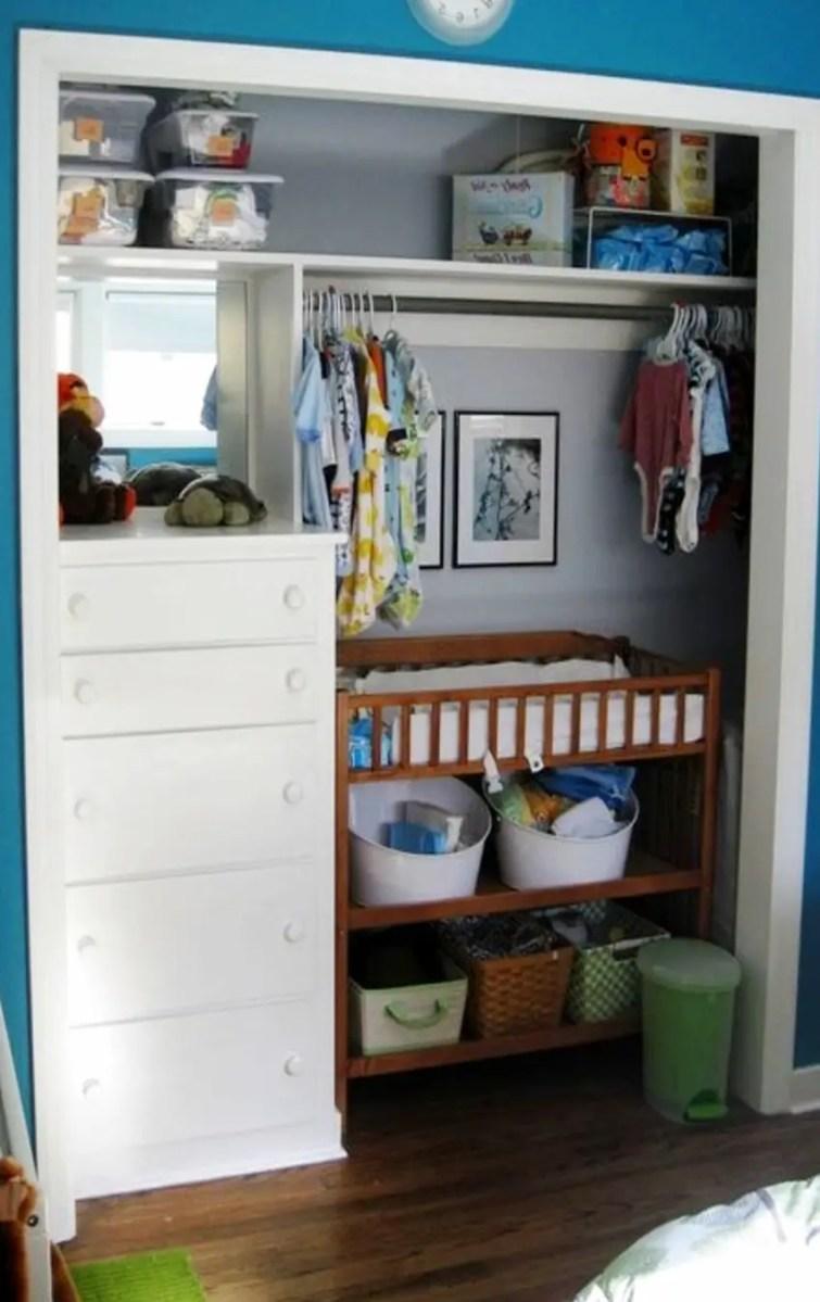 No Closet For Baby Clothes