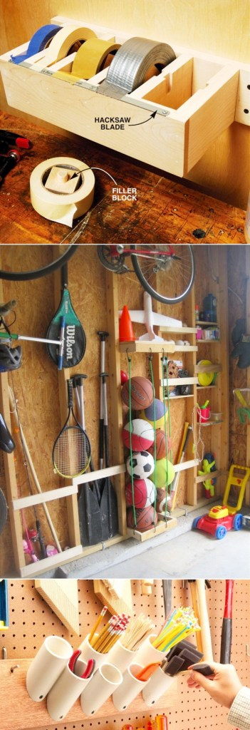organize organization diy brilliant garage ideas