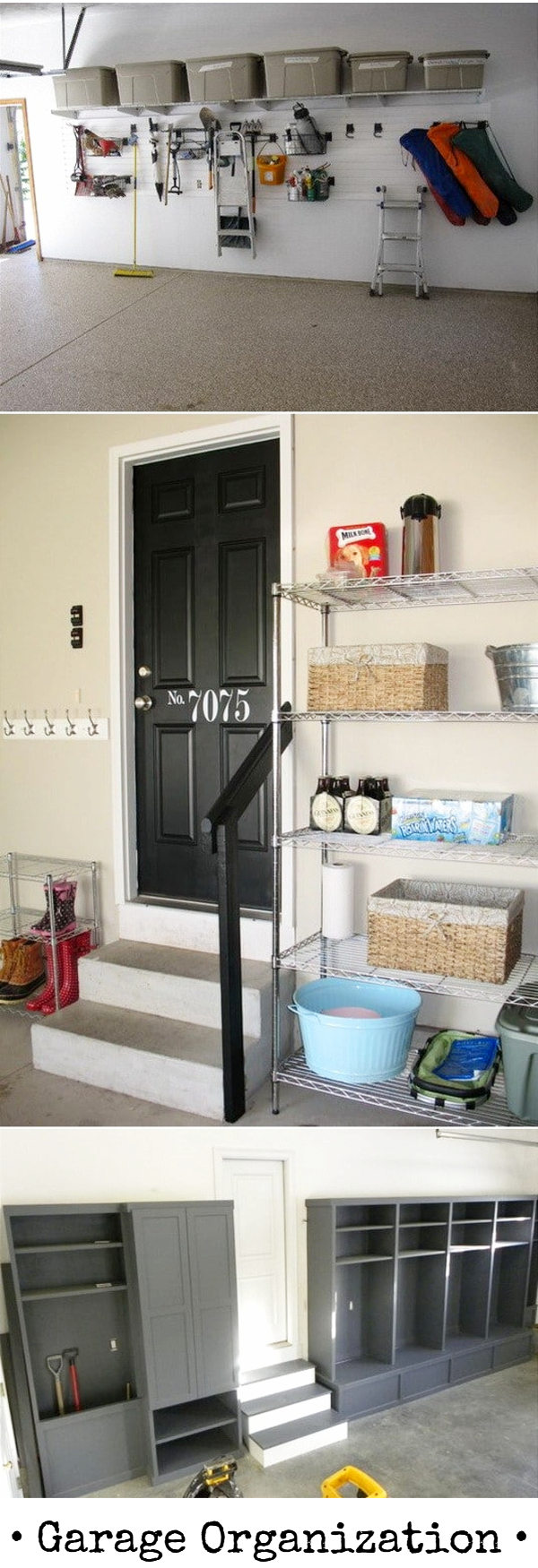 Garage Organization And Storage Ideas   Organize Your Garage Clutter With  These 5 Quick And Cheap