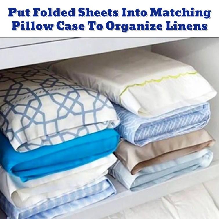 Linen Closet Organization ideas - Getting Organized - 50+ Easy DIY organization Ideas To Help Get Organized
