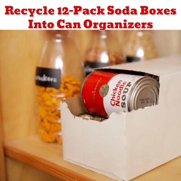 Upclycled Organization Ideas - Repurpose Old Stuff to Get Organized - Getting Organized - 50+ Easy DIY organization Ideas To Help Get Organized