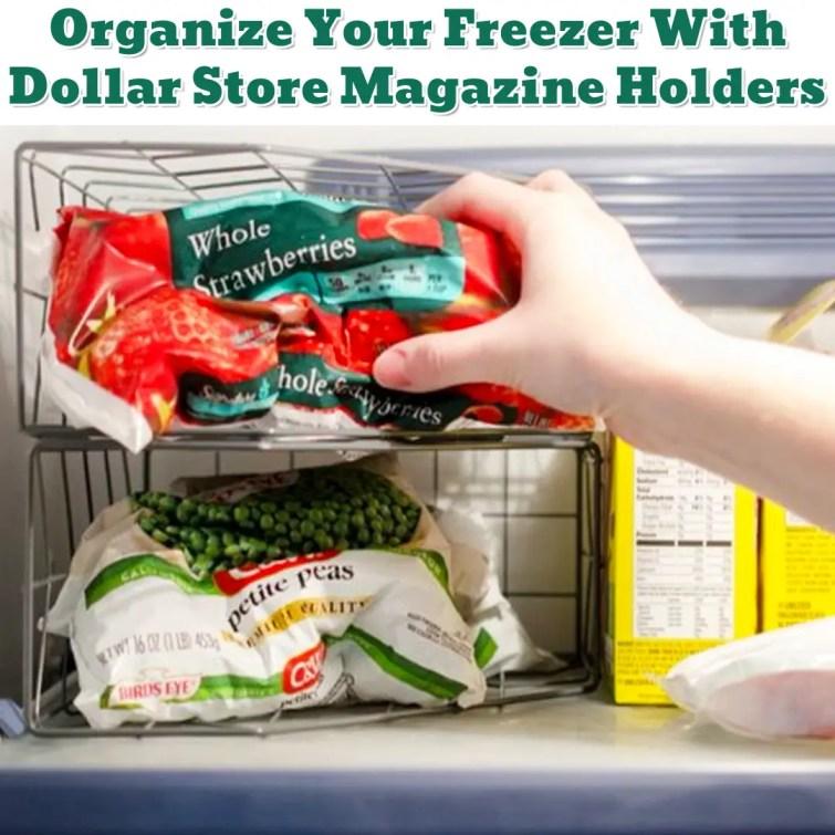Freezer Organization Hack - Getting Organized - 50+ Easy DIY organization Ideas To Help Get Organized