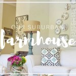 {Farmhouse Style!} Clean, Crisp & Organized Farmhouse Decor Ideas