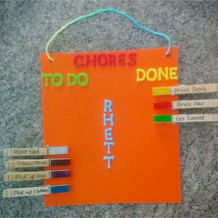 Family Chore Charts - DIY Chore Charts for Kids - Printable Chore Charts and DIY Ideas to Make Your Own Chore Chart for Your Child or Multiple Kids.