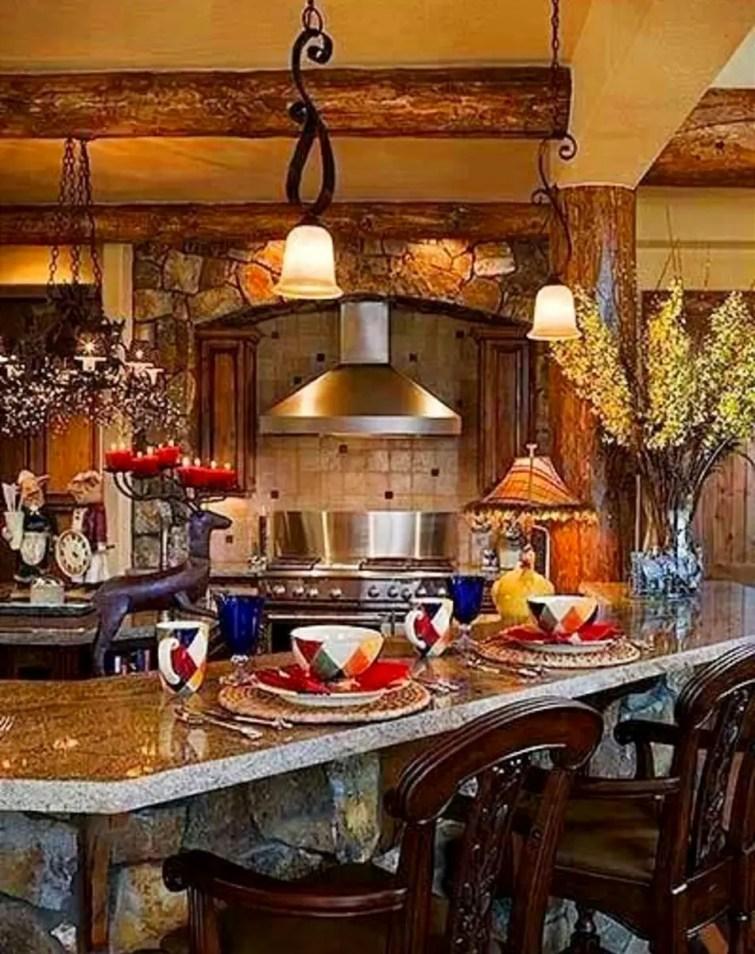 Italian Tuscan Farmhouse Kitchen