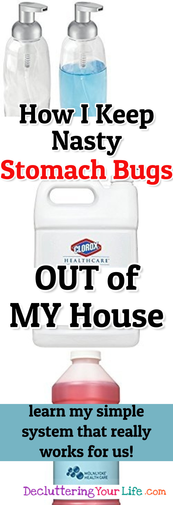 How I keep from getting a stomach virus and how to keep stomach bugs from spreading in your house...and KEEP those germs OUT of your house to begin with.  This REALLY works for me!