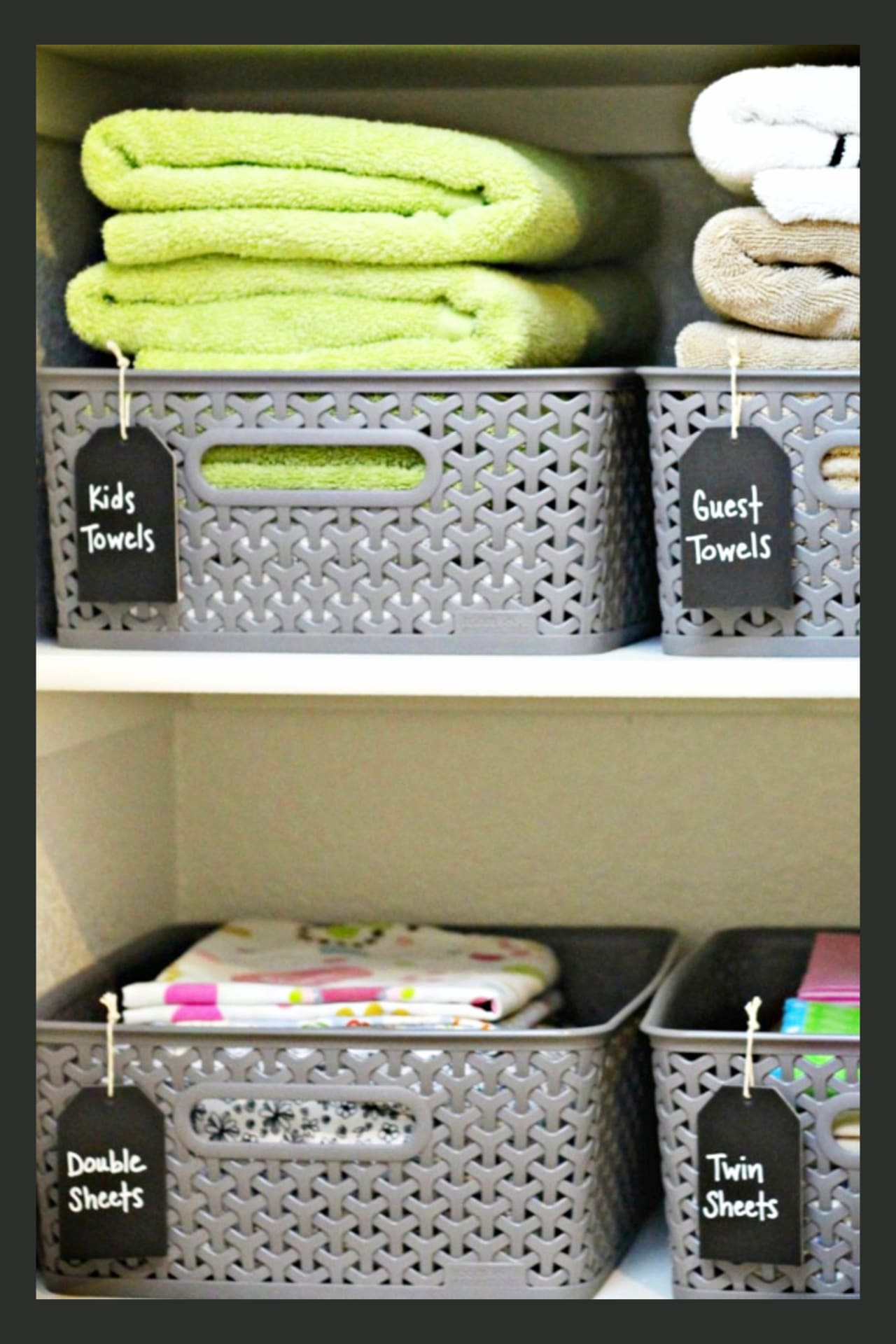 Organizing With Baskets 36 Ways To Get Organized On A