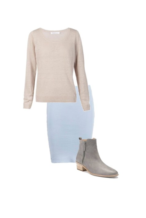 Cashmere sweater: Skin and Threads; Ankle boots: Country Road