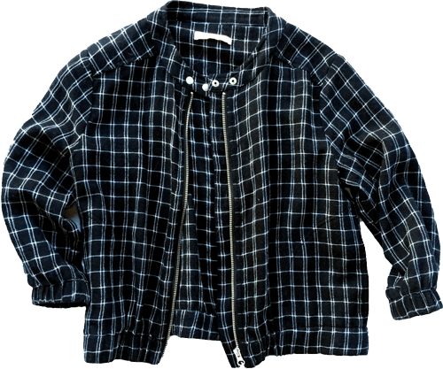 Mesop-check-cotton-jacket