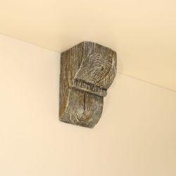 Консоль для балки Кантри 120х120 Рустик - Белый