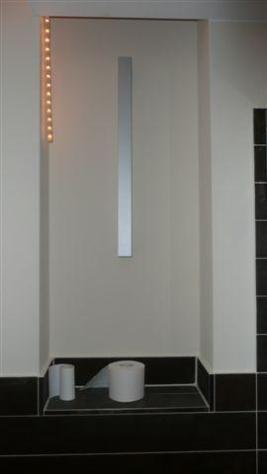 Lichtschlitz mit Ablage