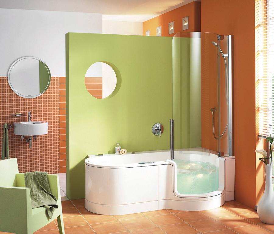 Kombination Aus Dusche Amp Badewanne Von Artweger Auf DECOde