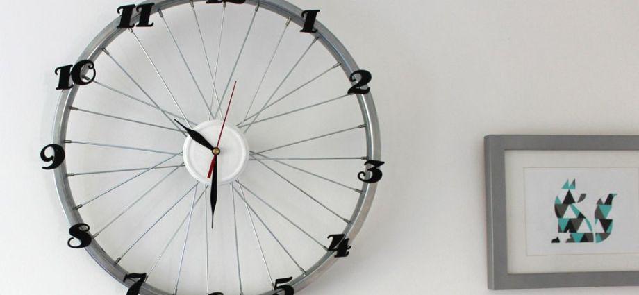 ZEGAR z koła od roweru