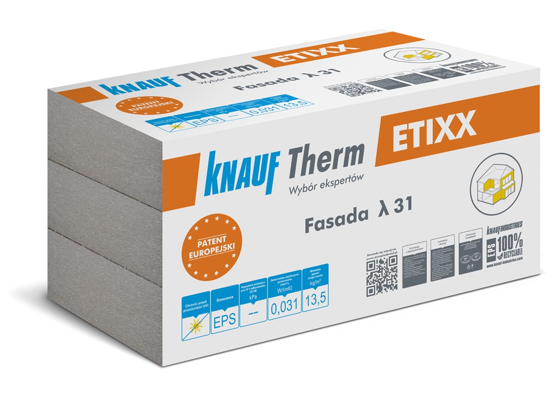 Styropian Knauf Therm ETIXX Fasada λ 31
