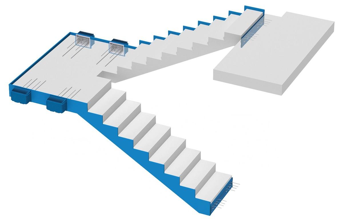 Izolacja akustyczna Schöck System Tronsole