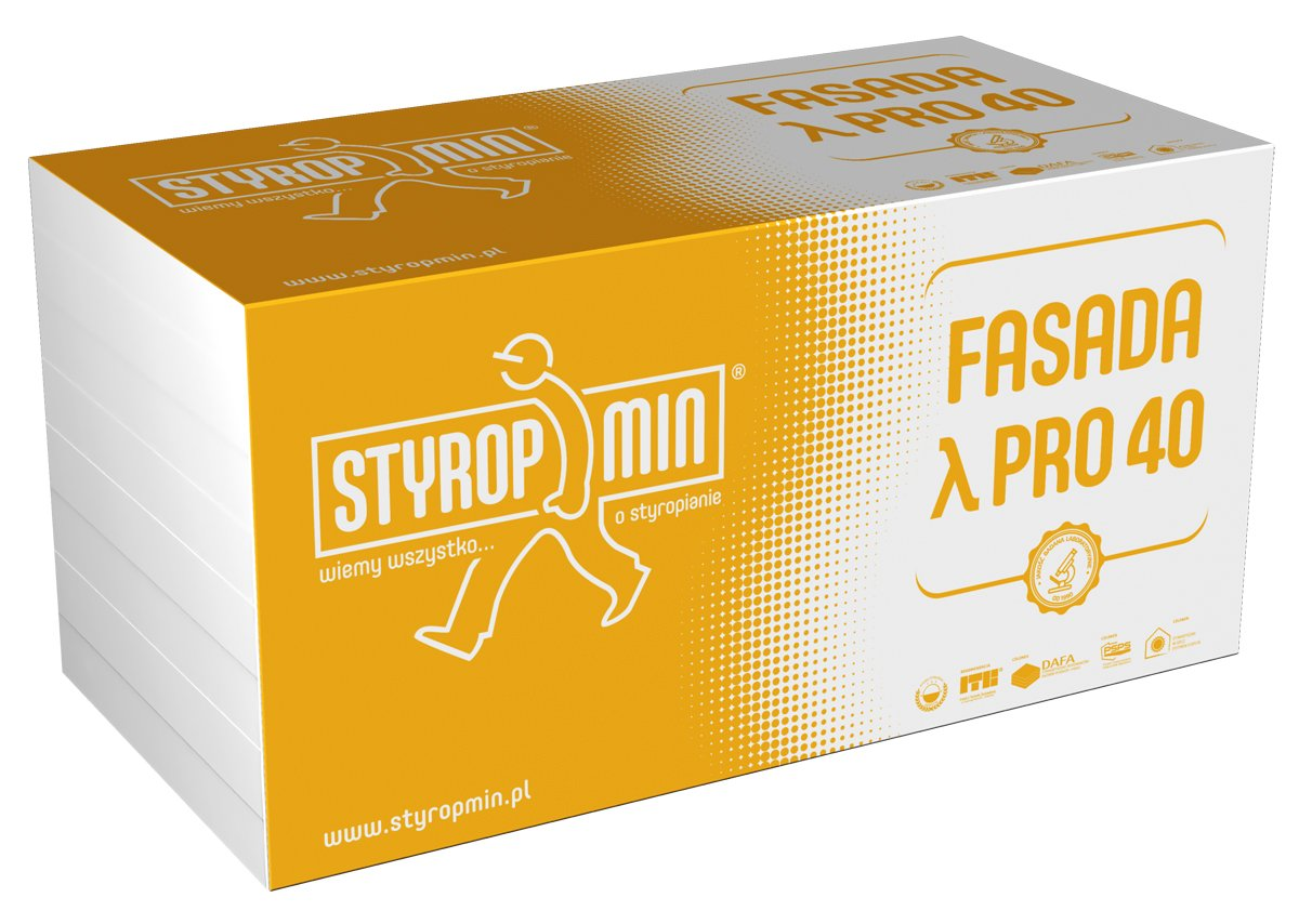 STYROPMIN FASADA λ PRO 40