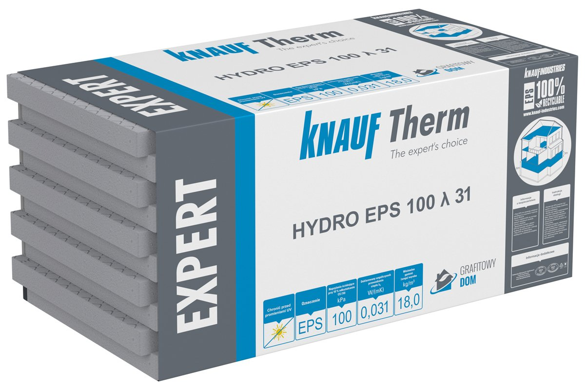 Knauf Therm Expert Hydro EPS 100 λ 31