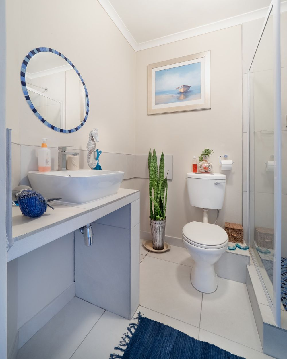 Jak optycznie powiększyć łazienkę za pomocą płytek łazienkowych?