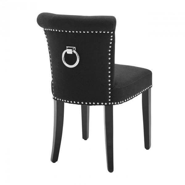 Styl glamour - fotel